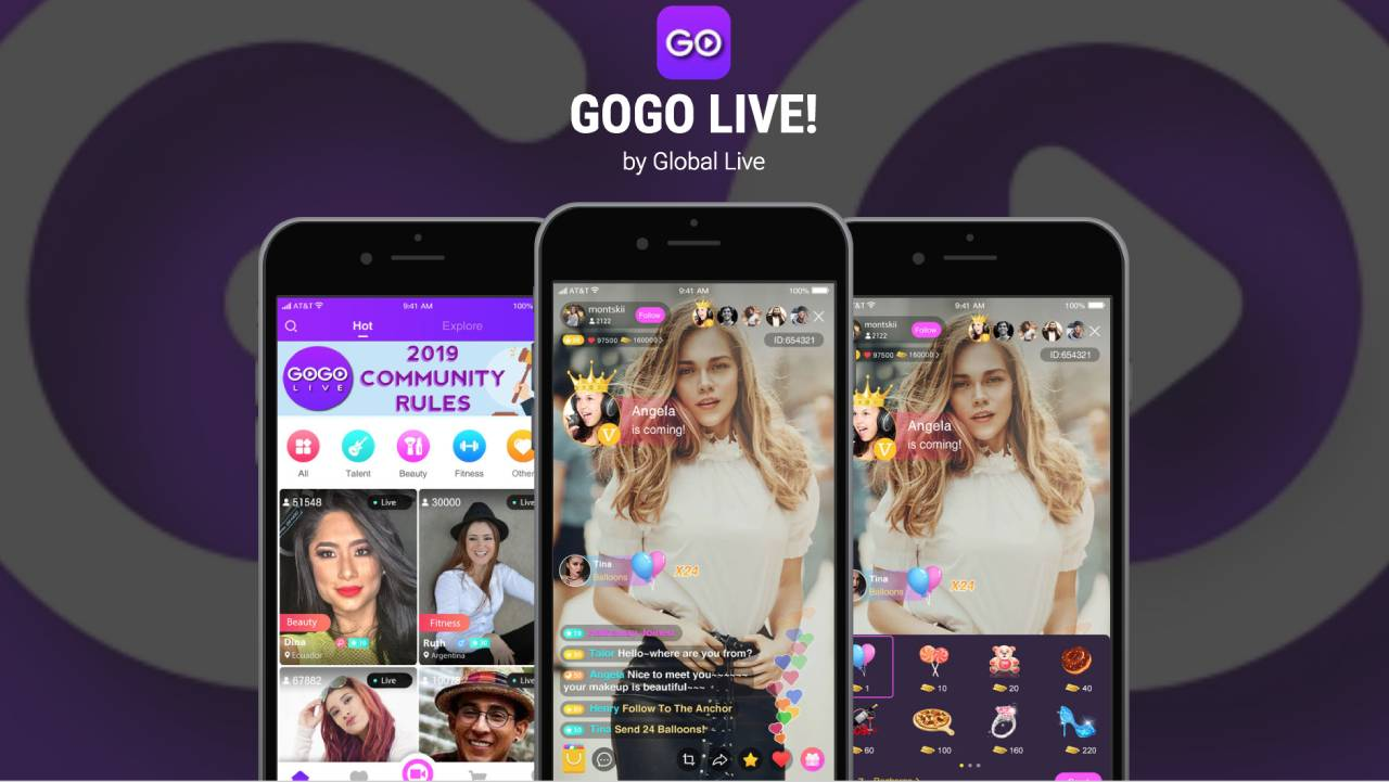 Download Gogo Live MOD v2 8 0 APK Download for Android 2019