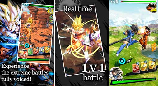 dragon ball legends 200 apk mod high damage android 2 - Dragon Ball Legends MOD APK