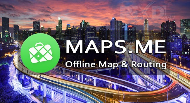 MAPS.ME Offline Map Routing