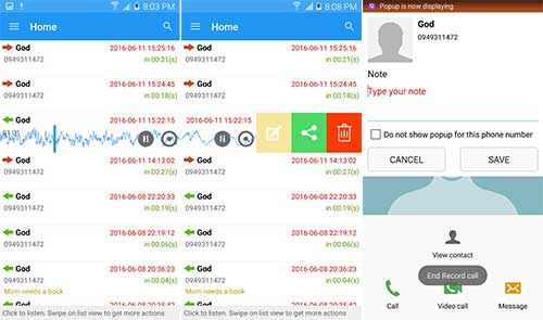Download PRO Robot Note Call Recorder 7 0 6 Apk for Android