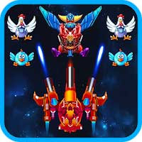 Download Chicken Shooter: Space Shooting 2 1 Apk + Mod Money